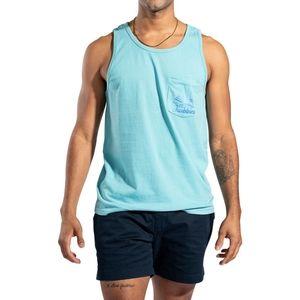 NWT Men's Chubbies True Tide Tank Top, Size L